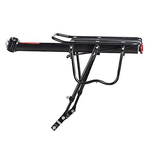 Wall of Dragon Bike Rack 50kg capaciblity Bicycle Quick Release Luggage Cargo Seat Post Pannier Carrier Rear Rack Fender Bicycle Accessories by Wall of Dragon (Image #4)