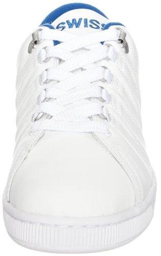 classic swiss Sneaker weiß Blue red Lozan Uomo white Basso Collo K A Bianco pOvqqw