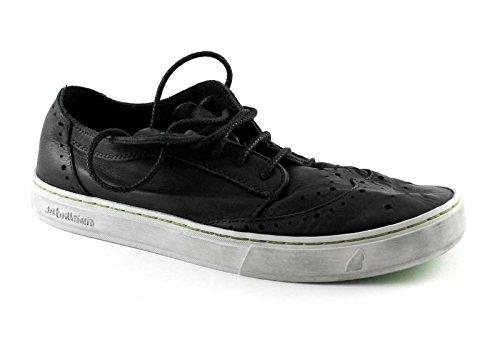 Cuir Chaussures Derby Noir 023 Nero Homme Les Yukai Lacets 161 Satorisan en Anglais Noires 7IxWPP