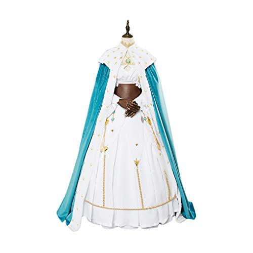 MYYH Anime Anastasia Cosplay Costume Princess Dress Halloween (S) Blue -