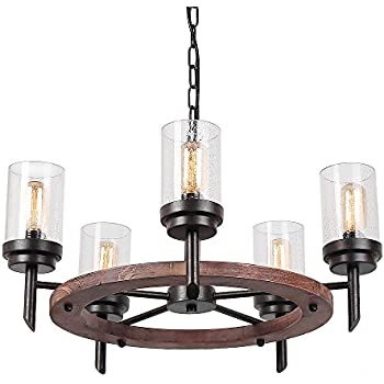 Kichler Lighting Barrington 5 Light Distressed Black and