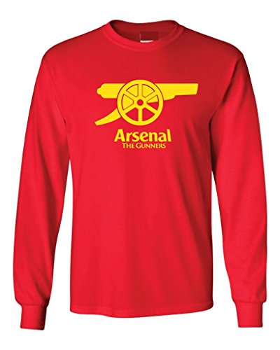 Local Imprint Men's Arsenal Long Sleeved Tee L Red