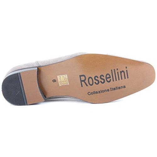 Rossellini gangster Da Grey con Suede vera foderato Spettatore scarpe In con uomo cappuccio pelle allacciate SUzrdSw