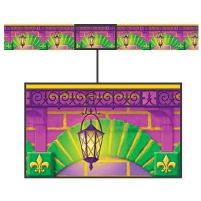 Decorative Arches Scene Setters Border Roll Mardi Gras Party Celebrations 50 Ft