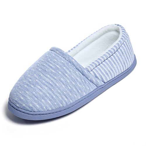Sole House on Cotton Home Indoor Slippers Slip ChicNChic Soft Women Shoes Blue Comfortable UqavY