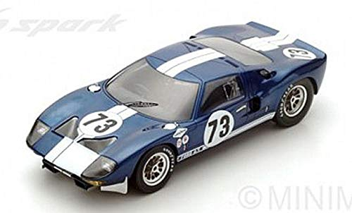 FORD GT N.73 WINNER 2000 KM DAYTONA 1965 K.MILES-L.RUBY 1 18 - Spark Model - Auto Competizione - Die Cast - Modellino
