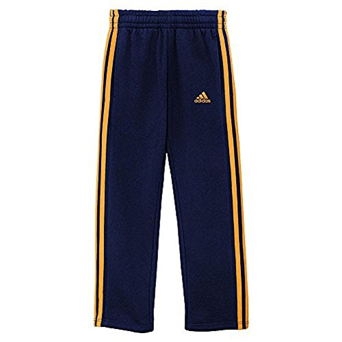 Adidas Boys Activewear - Athletic Pants for boys and youth Size 8 - 18 (X-Large / 18, Collegiate Navy / Lucky ()
