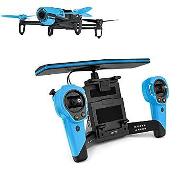 Parrot Bebop Quadcopter Drone with Sky Controller Bundle (Blue)