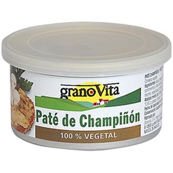 Granovita Pate Vegetal Champiñón - 125 gr: Amazon.es ...