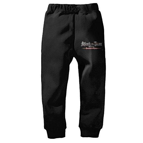 Fashionable Attack On Titan Mikasa Ackerman Armin Arlert Children Sweatpants Pants - Sweatpants Titan Attack On