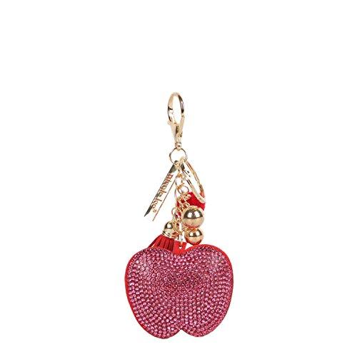 Nicole Lee Llavero Frutal GEMA con imitación de diamantes con aplicaciones decorativas
