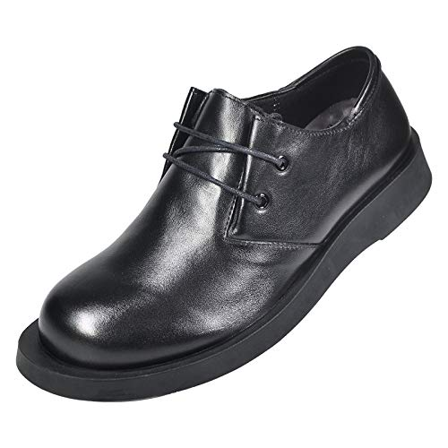 AIMENGA Herrenschuhe Herrenschuhe AIMENGA Big Scalp Schuhe Schuhe Herren Business Herrenschuhe Herbst Big Head Herren Leder Rundkopf Kleid Schnürung 707075