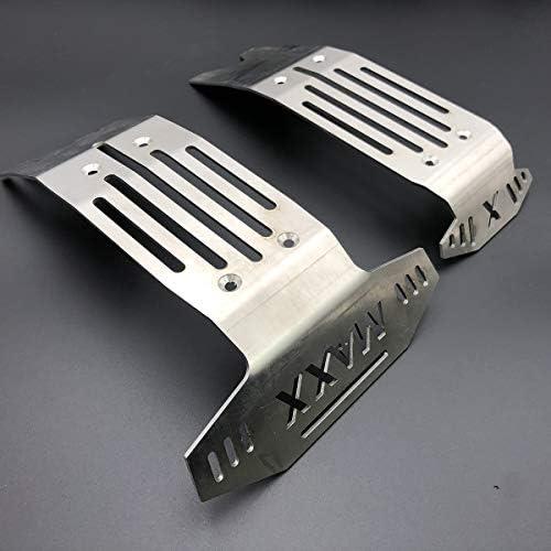 Metal steel Châssis Armor Avant /& Arrière Plaque de protection garde pour Traxxas X-Maxx xmaxx