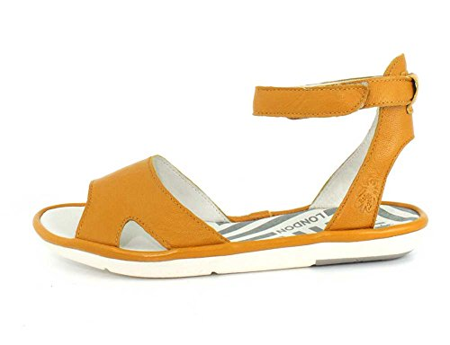 MAFI857FLY Fly London P500857006 Yellow Sandals wAPaH