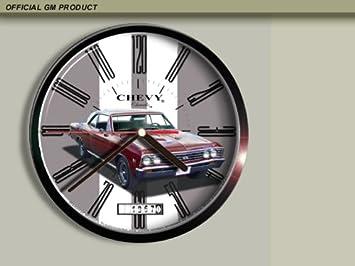 1967 Chevrolet Chevelle Wall Clock E025