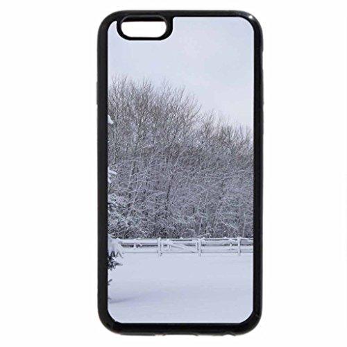 iPhone 6S / iPhone 6 Case (Black) wonderlandwinter