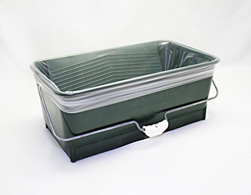 Clean Liners - Quickn'Clean disposable paint bucket liners 5-Pack. Custom fits Wooster Wide Boy paint bucket.