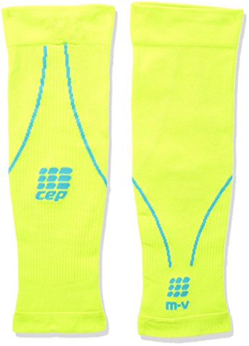 CEP Sleeve Cep Pro+ Calf Sleeves 2.0 - Calcetines Lime/Hawaii Blue