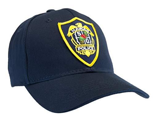 Hawaii Five O Hat Ball Cap Hat Honolulu Police Five 0 Blue ()