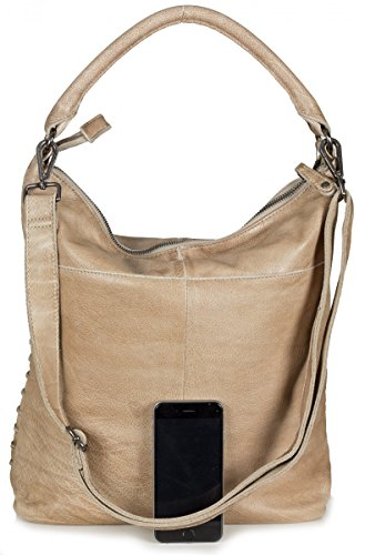 FredsBruder Grid Girl Sac sable