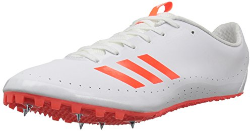 adidas Men's Sprintstar Track Shoe, Solar Red/White/Infrared, 7 M US by adidas (Image #1)