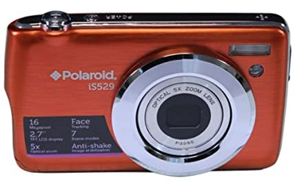 Amazon.com   Polaroid IS529-ORG KIT-AMX 16 Digital Camera with 2.7 ... 0b18f48ac9