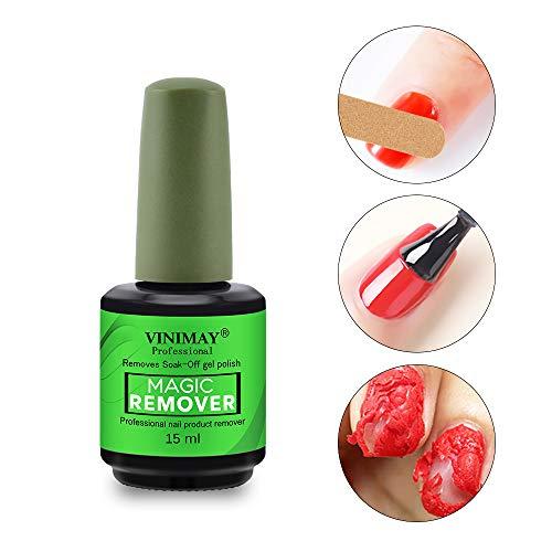 Ownest Burst Magic Nail Polish Remover, Easily & Quickly Removes Soak-Off Gel Polish, Don't Hurt Nails, Professional Non-Irritating Nail Polish Remover-15ml