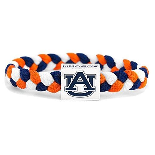 (Glass-U NCAA Game Day Nylon Woven Bracelet - Auburn)