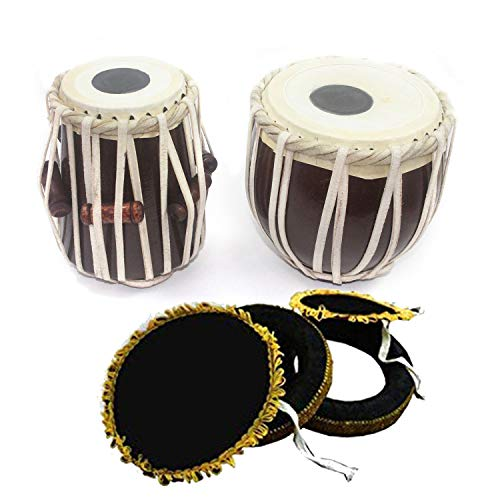 Tabla Set for Kids training (7 Inch Wooden Tabla) for sale  Delivered anywhere in USA