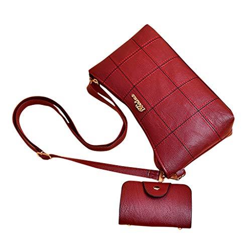 Hot Selling!!!♛HYIRI Women's Hand Bags Temperament Top Capacity Tote Bag Shoulder Bag Wallet Crossbody Bag ()