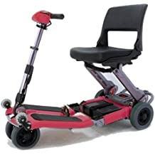 Luggie Mobility Scooter - Burgundy Red - FR168-4IT - BURGUNDY RED