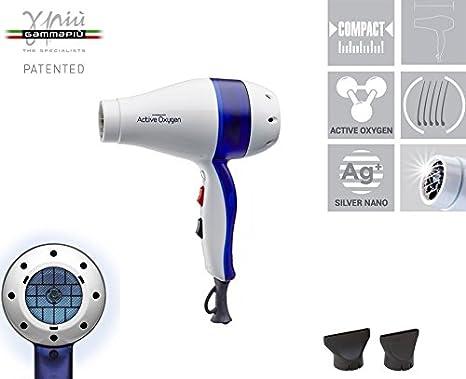 Gamma Più Active Oxygen K5 secador profesional 1800 - 2100 W Secador con oxígeno activo y Silver Nano Technology: Amazon.es: Belleza