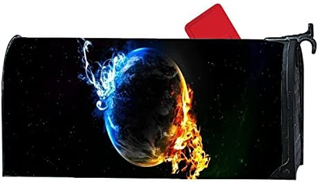 Amazon Com Julefan Mailbox Covers Hot And Cold Earth Front Door