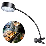 LeiDrail Flexible Solar Barbecue Grill Light with Clip Super Bright 360 Degree Adjustable LED BBQ Lamp for Outdoor Camping Hiking Any Gas Charcoal Electric Grill Barbeque Accessories Tools Set