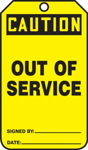 out of service signs - 3