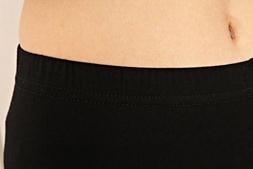 Liang Rou des Femmes Spandex cale/çons /écourt/és Couleur Noir Bordure en Dentelle