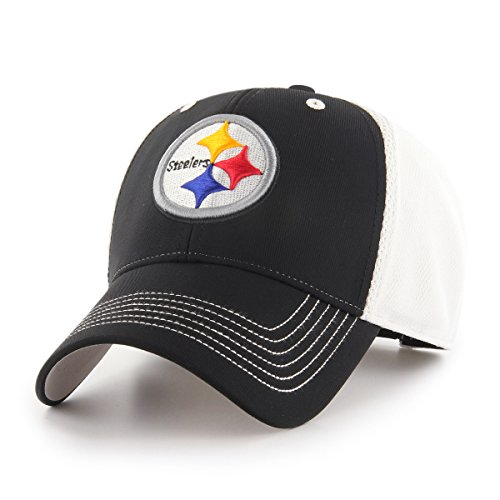 - NFL Pittsburgh Steelers Sling OTS All-Star MVP Adjustable Hat, Black, One Size