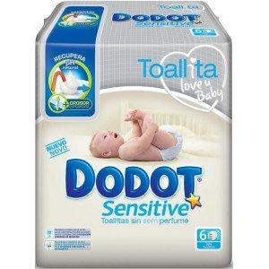 Dodot - Toallitas Sensitive 324 Unidades: Amazon.es: Salud y cuidado personal