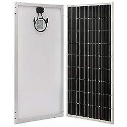 Richsolar 170 Watt 12 Volt Moncrystalline Solar Panel High Efficiency Mono Module
