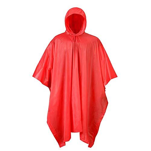 - Mossi PVC Poncho (Red)