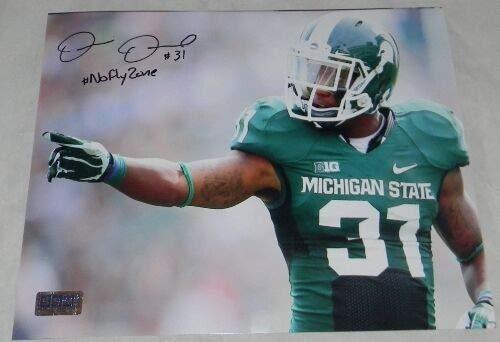 (Darqueze Dennard Autographed Signed Memorabilia Msu Michigan State Spartans 8x10 Photo Coa - Certified)