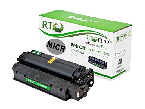 Renewable Toner Compatible MICR Toner Cartridge Replacement for HP 13A Q2613A Laserjet 1300