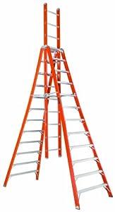 Louisville Ladder Fx1112 300 Pound Duty Rating Fiberglass