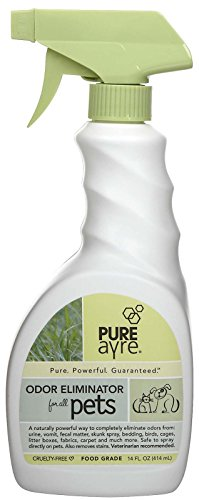 PureAyre - All-Natural Plant-Based Pet Odor Eliminator - Pure, Powerful, and Completely Safe - 14 Ounces