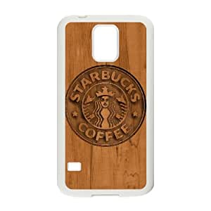 Samsung Galaxy S5 Cell Phone Case White Starbucks 4 WS0248534