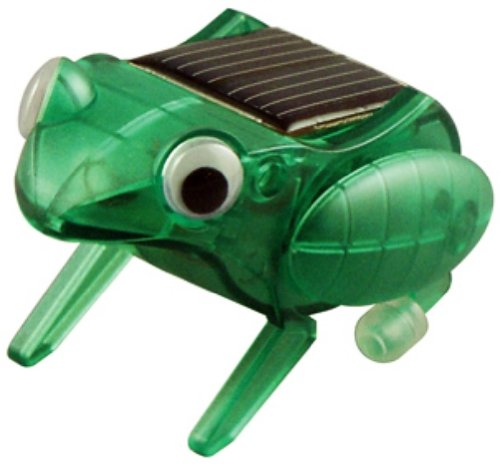 OWI OWI-MSK672 Happy Hopping Frog Educational Mini Solar Kit, Have Approximately Twenty-five Parts to Assemble, Includes Solar Cell, Recommended Age 10+, Dimensions 2.6'' x 1.8'' x 1.7''