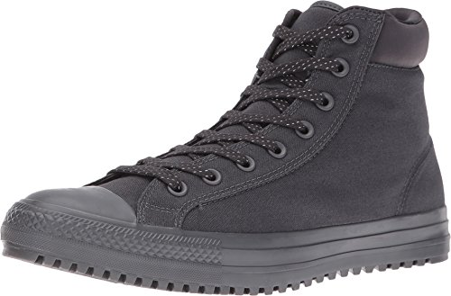 Converse Mens Boots (Converse CHUCK TAYLOR ALL STAR SHIELD CANVAS PC HIGH TOP BOOTS mens boots 153681C-049_9.5 - Almost Black / Almost)