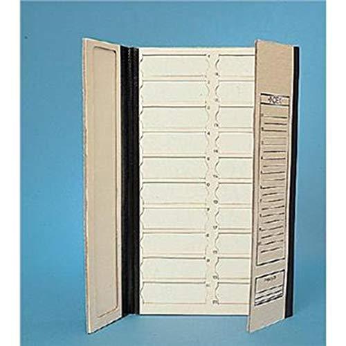 Thomas SF20-3X1 Jordan Paper Box Company Micro Slide Tray 20-3X1