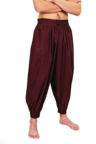 Museum Replicas Madagascar Pants - Brown - (Renaissance Juggler Costume)