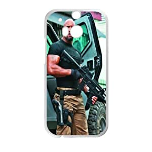 Personalized Creative Dwayne johnson Slim-fit Design For HTC One M8 PQ75Q2247